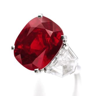 'The Sunrise Ruby' sale breaks world auction record