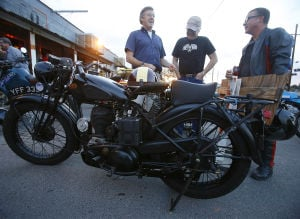 Tucson Vintage Motorcycle Riders meet to talk, admire bikes
