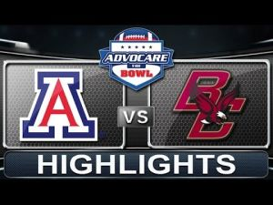 Arizona vs Boston College | AdvoCare V100 Bowl | 2013 ACC Football Highlights