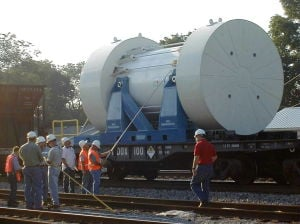 Feds want nuclear waste train, but there's nowhere to go