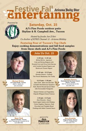 Taste local chefs' recipes today at La Encantada