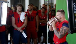 Photos: UA football check-in day