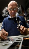 Stereo repairman stays in tune with customers