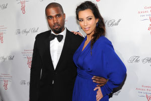 Photos: Kim Kardashian, Kanye West are engaged