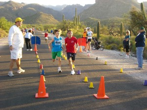 Manzanita kids turn out for annual Desert Dash