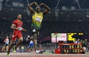 Bolt finishes Games perfect 3 for 3