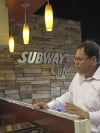 Subway tests trendy cafe model