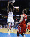 NBA: Durant, Westbrook help OKC win big; Heat beats Milwaukee