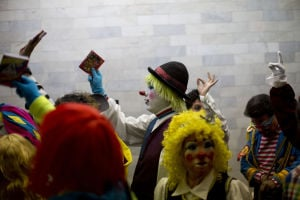 Photos: Clowns clowning around at convention