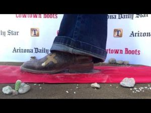 Tucson rodeo red carpet boot cam