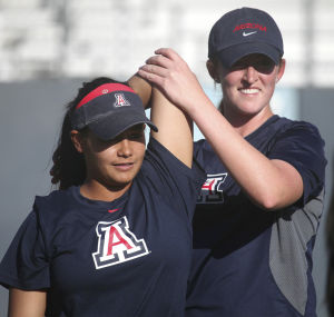 Arizona softball: Del Ponte's tough year near end