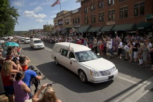 Photos: Prescott firefighters begin final journey