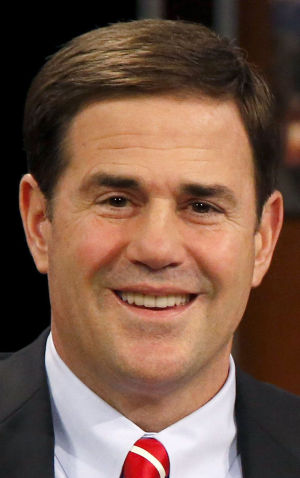 Ducey won't rescind tax cuts to balance budget