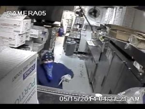 Surveillance video: Dominick's Real Italian restaurant burglary