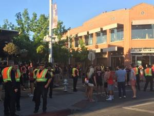 Post-game crowd near UA 'great,' officer says