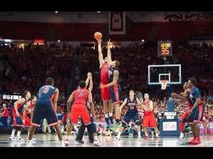 Seen and heard during Red-Blue at McKale Center
