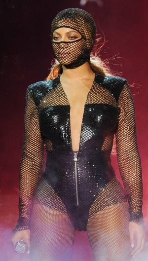 Photos: Does Beyonce go risque on tour?