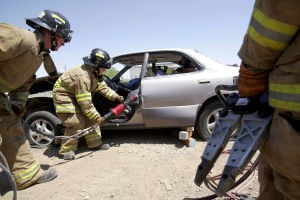 Photos: Northwest Fire extrication training
