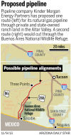 Proposed Sierrita gas pipeline will cost taxpayers millions, Huckelberry says