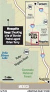 Mesquite Seep: Shooting site of Border Patrol agent Brian Terry (Dec. 14, 2010)