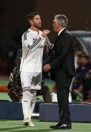 Ancelotti arregló el vestuario de RM, según Sergio Ramos