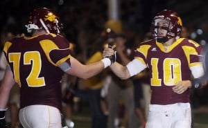 Salpointe storms past Mountain View 34-7