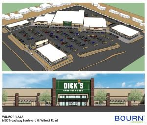 Dick's Sporting Goods to anchor Wilmot Plaza redevelopment