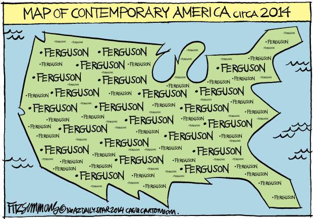 Daily Fitz Cartoon: Map
