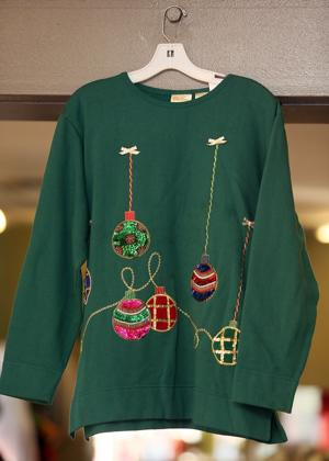 Forget glitz, holiday style should be festively ugly