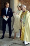 Christening of Britain's Prince George