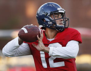 UA football: Rodriguez names Solomon starting quarterback