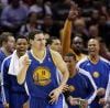 NBA playoffs: Determined Warriors don't let history repeat