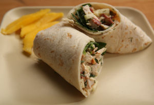Wraps make great summertime meals