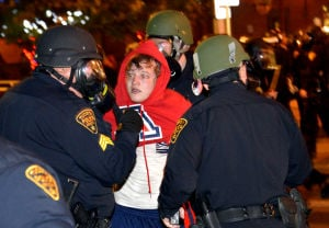 Storify: Wildcat fans  and Tucson police clash after NCAA loss