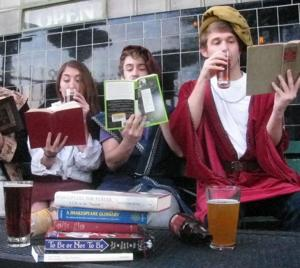 Get thee to Beer with the Bard on Saturday