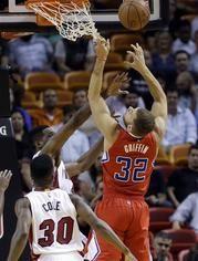 Clippers logra ventaja tempranera y arrolla a Heat