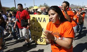 Marcha por César Chávez el sábado