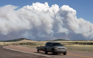 Officials worry about fire's spread