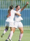 Second-half goals help UA earn second straight win