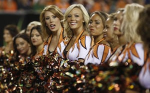 Photos: NFL cheerleaders, week 2