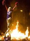 UA bonfire a non-fire this year