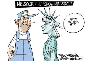 Fitz Cartoon Extra: Ferguson