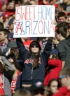 ARIZONA 56 Colorado 31 Buffs left in dust