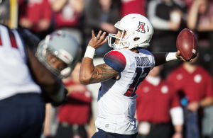 No. 15 Arizona starts hot, beats Washington State 59-37
