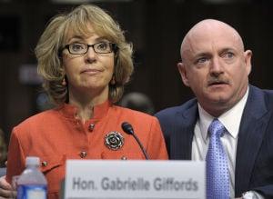 Photos: Giffords asks Senate to act on gun control