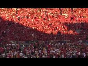 Watch end of UA vs. ASU game celebration