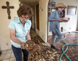 Storm-damage recovery a challenge at flooded homes