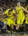 Trey Burke, Corey Person, Mitch McGary