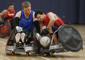 Photos: Wheelchair rugby