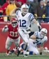 NFL Notebook: Colts make playoffs as Luck breaks Newton's mark